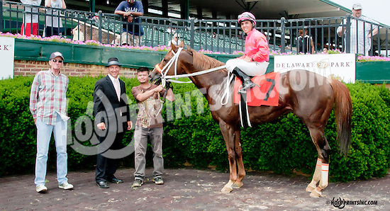 Nacho Saint winning at Delaware Park on 6/27/13