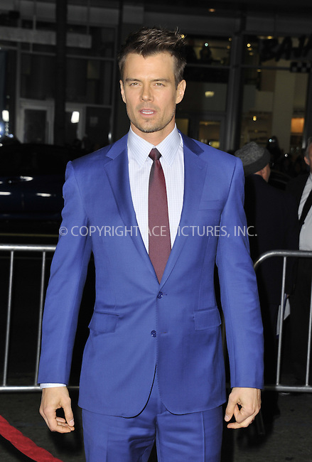WWW.ACEPIXS.COM....February 5 2013, LA....Josh Duhamel arriving at the 'Safe Haven' - Los Angeles Premiere at TCL Chinese Theatre on February 5, 2013 in Hollywood, California.....By Line: Peter West/ACE Pictures......ACE Pictures, Inc...tel: 646 769 0430..Email: info@acepixs.com..www.acepixs.com