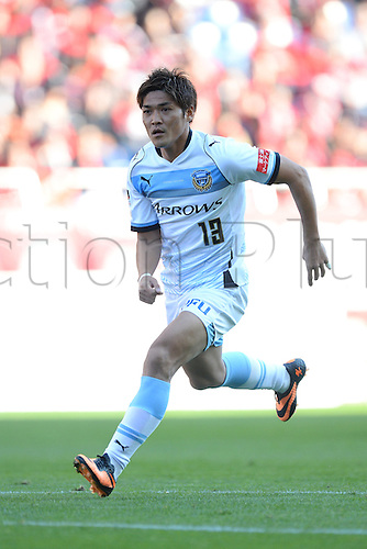 23.11.2013 Saitama, Japan.  Yoshito Okubo (Frontale), Japan League Division 1 match between Urawa Reds 1-3 Kawasaki Frontale at Saitama Stadium 2002, Saitama, Japan.