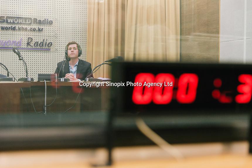 Headshot, KBS International Radio, Seoul, 2014.