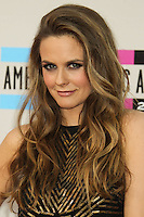LOS ANGELES, CA - NOVEMBER 24: Alicia Silverstone arriving at the 2013 American Music Awards held at Nokia Theatre L.A. Live on November 24, 2013 in Los Angeles, California. (Photo by Celebrity Monitor)