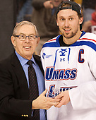 Steve Nazro, Michael Kapla (UML - 3) The University of Massachusetts-Lowell River Hawks defeated the Boston College Eagles 4-3 to win the 2017 Hockey East tournament at TD Garden on Saturday, March 18, 2017, in Boston, Massachusetts.