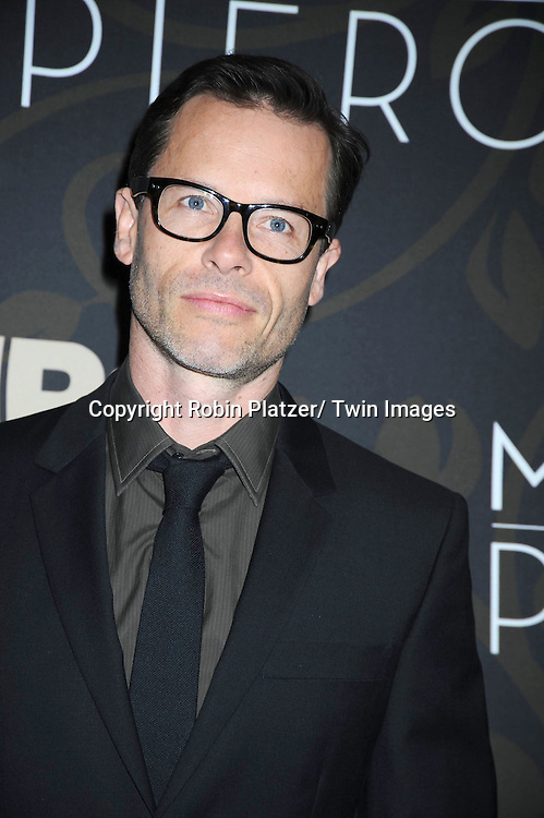 "Guy Pearce attending The New York Premiere of  the HBO Miniseries ""Mildred Pierce"" on March 21, 2011 at The Ziegfeld Theatre in New York City.  The movie stars Kate Winslet, Guy Pearce,  Evan Rachel Wood, Melissa Leo, Mare Winningham and James LeGros."