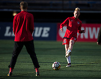 Seattle, WA - Saturday March 24, 2018: Joanna Lohman during a regular season National Women's Soccer League (NWSL) match between the Seattle Reign FC and the Washington Spirit at the UW Medicine Pitch at Memorial Stadium.