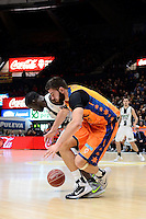 Dubljevic vs Savan&eacute;<br /> Liga Endesa ACB - 2014/15<br /> J14<br /> Valencia Basket vs Fiatc Joventut