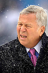 New England Patriots Chairman and CEO Robert Kraft watches pre-game drills prior to the game against the Buffalo Bills at Ralph Wilson Stadium in Orchard Park, NY, on December 11, 2005 . The Patriots defeated the Bills 35-7. Mandatory Photo Credit: Ed Wolfstein