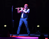 BOCA RATON - NOVEMBER 10: Jethro Tull perform at the Mizner Park Amphitheatre on November 10, 2017 in Boca Raton, Florida. <br /> CAP/MPI04<br /> &copy;MPI04/Capital Pictures