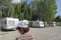 - campo modello di zingari Sinti &quot;Quartiere Terradeo&quot; a Buccinasco (Milano)<br /> <br /> - model camp of Sinti gypsies &quot;District Terradeo&quot; in Buccinasco (Milan)