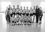 End of Rehearsal Group Photo: Studio Rehearsals by Dancers of the Professional Training Program at Cary Ballet Conservatory,   March 2016