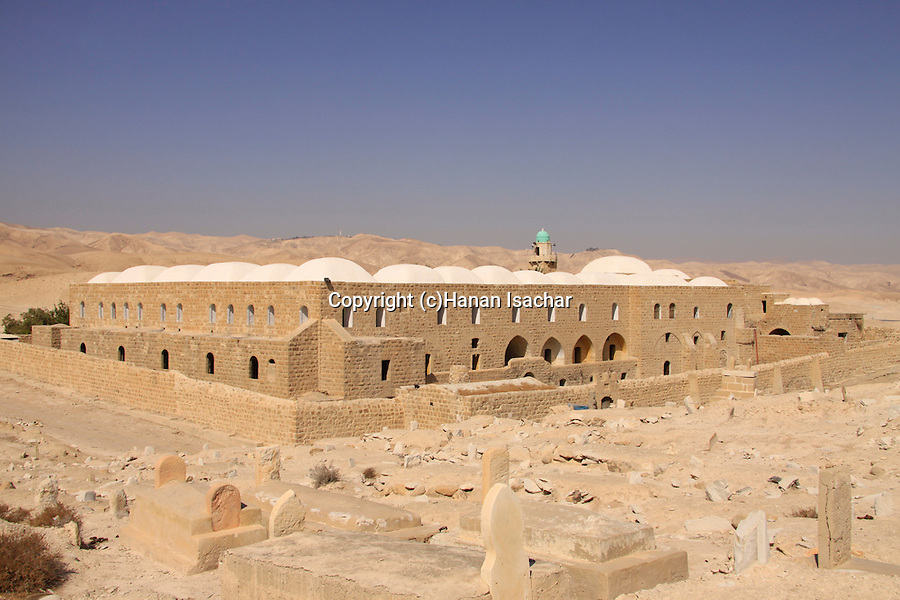 Nabi Musa in the Judean Desert, a Muslim pilgrimage site