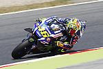 03.06.2016. Barcelona FIM Gran Premio de Catalunya. Entrenos libres.Valentino Rossi