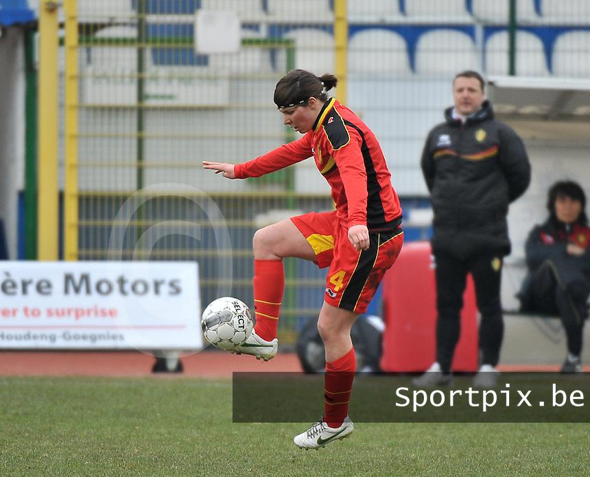 Belgium U19 - Switzerland U19 : Karen Verrydt.foto DAVID CATRY / Nikonpro.be