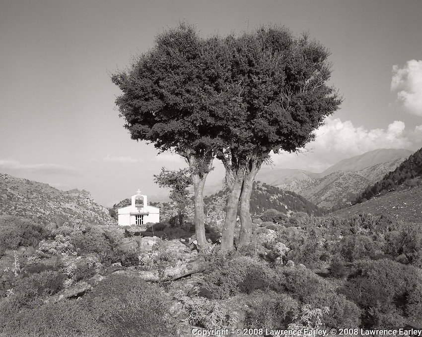 This chapel is found just above the Omalos plateau in western Crete.