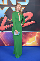 Jennifer Holland at the European premiere for &quot;Guardians of the Galaxy Vol.2&quot; at the Hammersmith Apollo, London, UK. <br /> 24 April  2017<br /> Picture: Steve Vas/Featureflash/SilverHub 0208 004 5359 sales@silverhubmedia.com