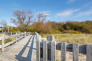 Sandy Point State Reservation on Plum Island, Massachusetts.