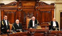 20130801 ROMA-POLITICA: LA CASSAZIONE CONFERMA LA CONDANNA PER BERLUSCONI NEL PROCESSO MEDIASET
