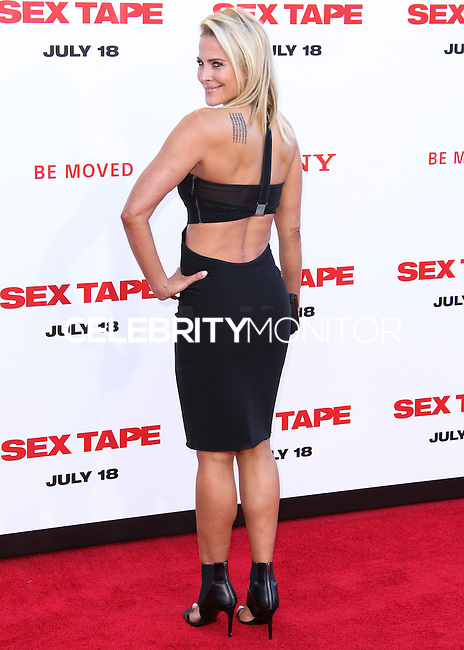 WESTWOOD, LOS ANGELES, CA, USA - JULY 10: Actress Brittany Daniel arrives at the World Premiere Of Columbia Pictures' 'Sex Tape' held at the Regency Village Theatre on July 10, 2014 in Westwood, Los Angeles, California, United States. (Photo by Xavier Collin/Celebrity Monitor)