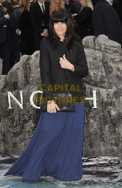 LONDON, ENGLAND - MARCH 31: Claudia Winkleman attends the &quot;Noah&quot; UK film premiere, Odeon Leicester Square cinema, Leicester Square, on Monday March 31, 2014 in London, England, UK.<br /> CAP/CAN<br /> &copy;Can Nguyen/Capital Pictures