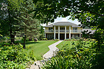 """Front of the house at 424 Lake Christine Drive. """"At Home"""" with Margaret Lowery in her Lake Christine Drive home in Belleville, IL on July 24, 2019. <br /> Photo by Tim Vizer"""