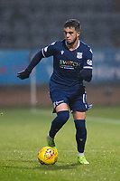 1st November 2019; Dens Park, Dundee, Scotland; Scottish Championship Football, Dundee Football Club versus Greenock Morton; Declan McDaid of Dundee on the ball - Editorial Use