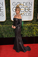 Goldie Hawn at the 74th Golden Globe Awards  at The Beverly Hilton Hotel, Los Angeles USA 8th January  2017<br /> Picture: Paul Smith/Featureflash/SilverHub 0208 004 5359 sales@silverhubmedia.com