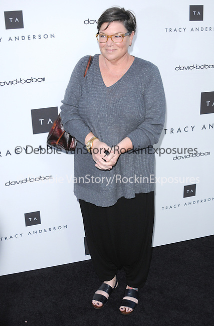 Mindy Cohn celebrates the opening of the Tracy Anderson flagship studio in Brentwood, California on April 04,2013                                                                   Copyright 2013 Hollywood Press Agency