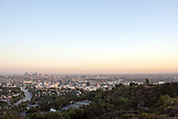 CALIFORNIA, Los Angeles, Downtown Los Angeles at Dusk