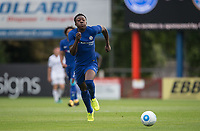 Benny Ashley-Seal of Chelsea during the pre season friendly match between Aldershot Town and Chelsea U23 at the EBB Stadium, Aldershot, England on 19 July 2017. Photo by Andy Rowland / PRiME Media Images.