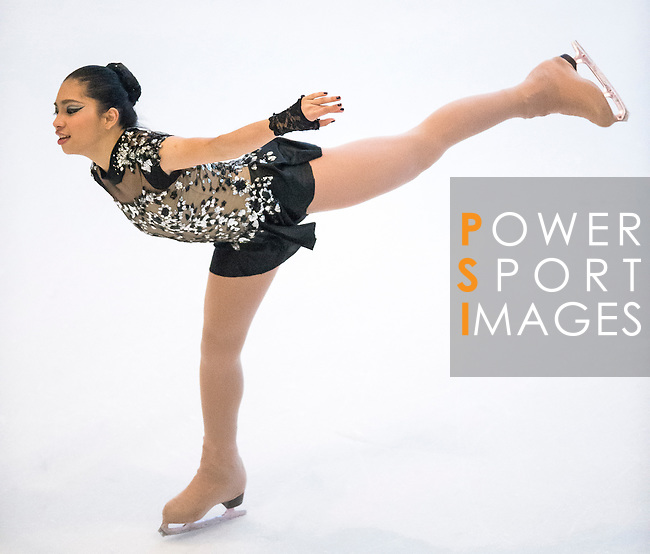 Sofia Isabella Rome during the Asian Junior Figure Skating Challenge 2015 on October 07, 2015 at the Festival Walk Mall in Hong Kong, China. Photo by Aitor Alcalde/ Power Sport Images