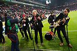 08.11.2019, RheinEnergieStadion, Koeln, GER, 1. FBL, 1.FC Koeln vs. TSG 1899 Hoffenheim,<br />  <br /> DFL regulations prohibit any use of photographs as image sequences and/or quasi-video<br /> <br /> im Bild / picture shows: <br /> ZUM KARNEvalsauftakt spielt die Koelner Gruppe de Hoehner<br /> <br /> Foto © nordphoto / Meuter
