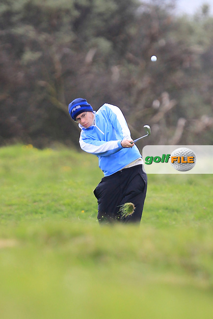 Ian Lynch during the first round of the Irish Amateur Open championship, Royal Dublin Golf Club 10/5/13.Picture: Thos Caffrey www.golffile.ie...