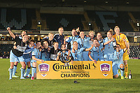 Man City Women v Arsenal Ladies - Continental Cup Final - 16/10/2014