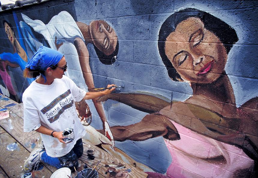 Mural Painter. Philadelphia PA USA.