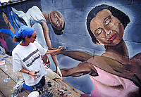 Mural Painter. Philadelphia PA USA.