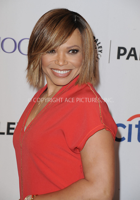 WWW.ACEPIXS.COM<br /> <br /> September 12 2015, LA<br /> <br /> Tisha Campbell-Martin attending the ABC Fall preview of 'Dr. Ken' at The Paley Center for Media in Beverly Hills, Ca.<br /> <br /> <br /> By Line: Peter West/ACE Pictures<br /> <br /> <br /> ACE Pictures, Inc.<br /> tel: 646 769 0430<br /> Email: info@acepixs.com<br /> www.acepixs.com