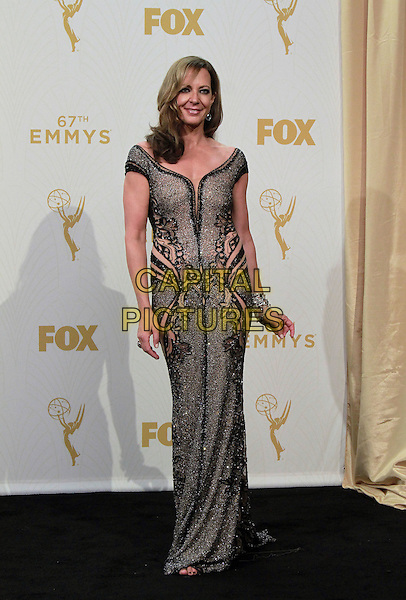 20 September 2015 - Los Angeles, California -  Allison Janney. 67th Annual Primetime Emmy Awards Press Room held at Microsoft Theater. <br /> CAP/ADM/THB<br /> &copy;THB/ADM/Capital Pictures