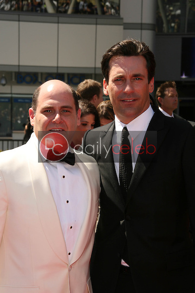 Matthew Weiner, Jon Hamm<br />