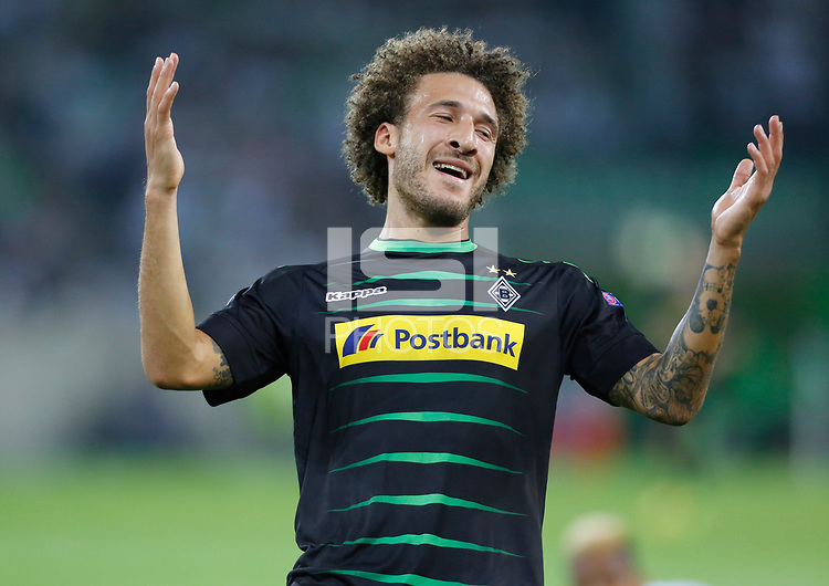 Gladbach, Germany 24.08.2016, Champions League Qualifikation, 2nd leg, Borussia Moenchengladbach - Young Boys Bern, Fabian Johnson (Moenchengladbach) .     .<br /> .