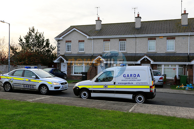 the scene in the Paddocks Termonfeckin, Co Louth. there a male was attacked on Monday night.<br /> Picture: Fran Caffrey www.newsfile.ie