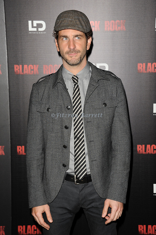 """Aaron Abrams at the screening of """"Black Rock"""" held at the Arclight Theatre in Los Angeles, CA. on May 8, 2013."""