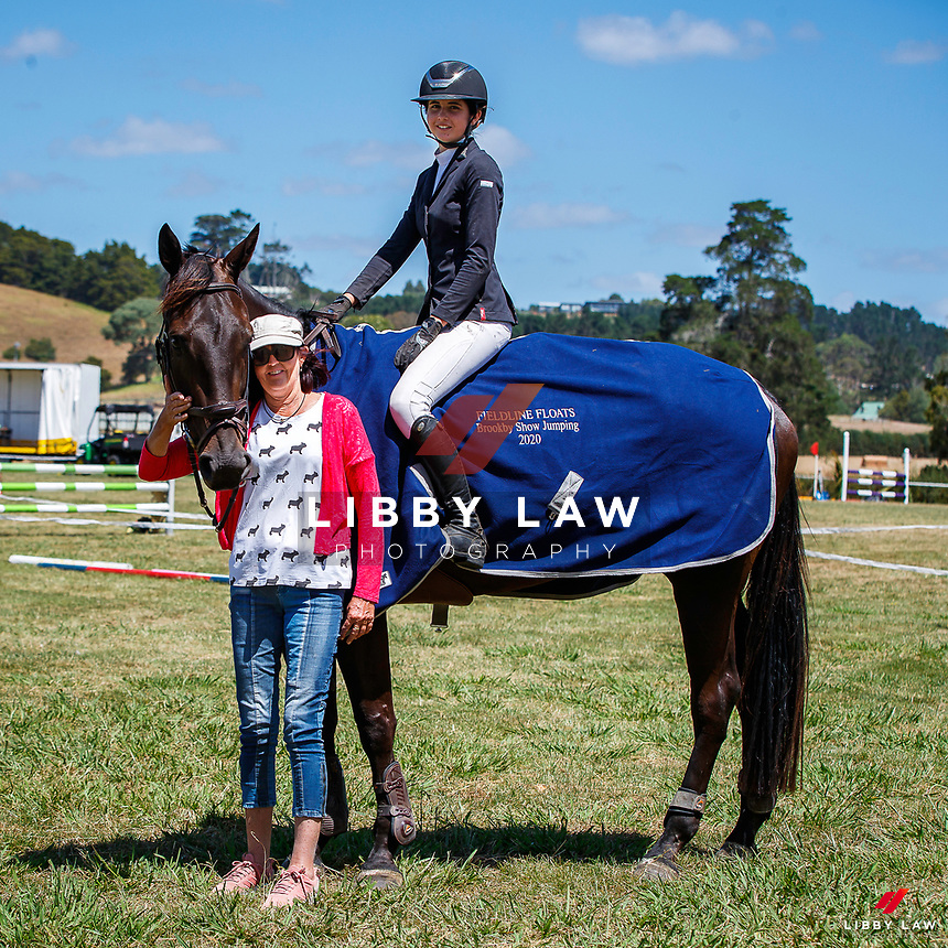 Class 27 Dynavyte NZ Horse 1.10m. 2020 NZL-Fieldline Horse Floats Brookby Showjumping Summer GP Show. Papatoetoe Pony Club. Auckland. Sunday 9 February. Copyright Photo: Libby Law Photography