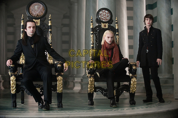Michael SHeen, Jamie Campbell Bower, Cameron Bright<br /> in The Twilight Saga: Breaking Dawn - Part 2 (2012) <br /> *Filmstill - Editorial Use Only*<br /> FSN-D<br /> Image supplied by FilmStills.net