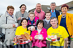 Douglas NS school held a coffee morning for daffodil day on Thursday  front row l-r: Fiona Flynn, Ann Sheehan, james Hurley. Back row: Mary Brosnan, Elizabeth O'Mahony, Edel Griffin, Damian quigg, Colm Griffin, Tom O'Shea, Deloras Johnson