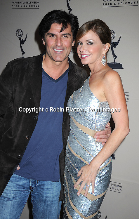Vincent Irizarry and Bobbie Eakes attending the TV Academy's Daytime Programming Peer Group Cocktail Reception in honor of the 2010 Daytime Emmy Awards Nominees on .June 24, 2010 at SLS Hotel at Beverly Hills, California.