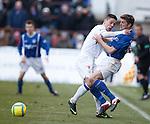 Ian Black and Ryan McCann clash