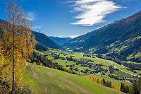 Oesterreich, Kaernten, Moelltal bei Putschall | Austria, Carinthia, Valley Moelltal near Putschall