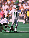 Philadelphia Eagles Matt Bahr (11) during a game  from his 1993 season. Matt Bahr played for 19 years with 6 different team and played on 3 Super Bowl winning teams