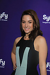 Allison Scagliotti in Warehouse 13 at SYFY 2013 Upfront Event on April 8, 2013 at Silver Screen Studios, NYC, NY (Photo by Sue Coflin/Max Photos)...................... (Photo by Sue Coflin/Max Photos)