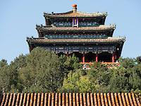 Jingshan-H&uuml;gel, Peking, China, Asien<br /> Jingshan hill, Beijing, China, Asia
