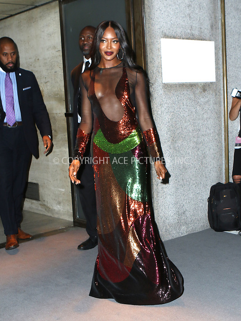 www.acepixs.com<br /> <br /> September 7 2016, New York City<br /> <br /> Naomi Campbell attending the Tom Ford fashion show during New York Fashion Week on September 7, 2016 in New York City.<br /> <br /> By Line: Nancy Rivera/ACE Pictures<br /> <br /> <br /> ACE Pictures Inc<br /> Tel: 6467670430<br /> Email: info@acepixs.com<br /> www.acepixs.com